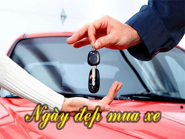 Ất Sửu mua xe ngày nào tốt