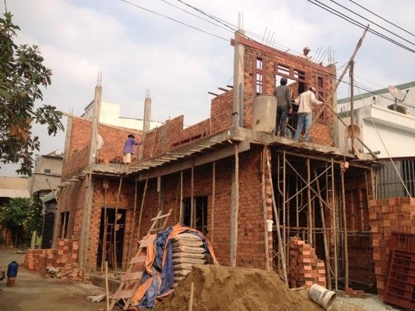 nằm mơ thấy xây nhà