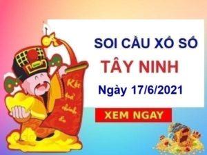 Soi cầu XSTN ngày 17/6/2021 – Soi cầu xổ số Tây Ninh hôm nay