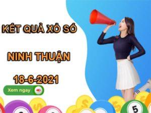 Soi cầu kết quả xổ số Ninh Thuận thứ 6 ngày 18/6/2021