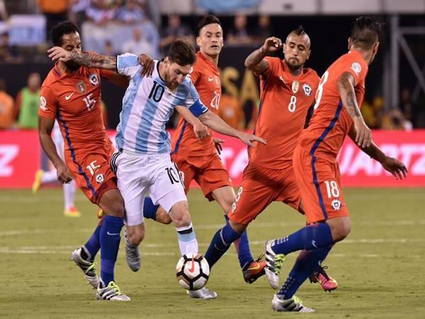 Nhận định kèo Tài Xỉu Argentina vs Chile (4h00 ngày 15/6)